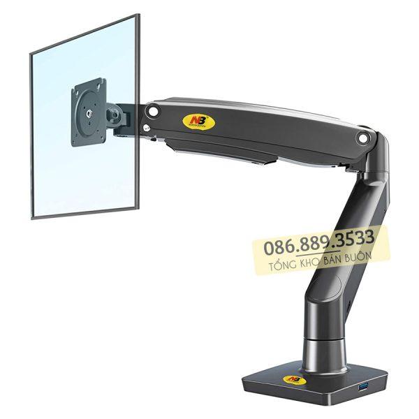 GIA TREO TAY TREO DO MAN HINH MAY TINH MONITOR 22 35 INCH F100A 11 600x600 - Giá treo màn hình máy tính NB F100A 22 - 35 inch - Mẫu Mới Nhất