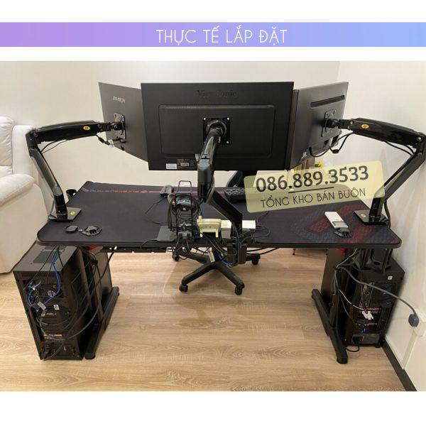 GIA TREO TAY TREO DO MAN HINH MAY TINH MONITOR 22 35 INCH F100A 9 600x600 - Giá treo màn hình máy tính NB F100A 22 - 35 inch - Mẫu Mới Nhất