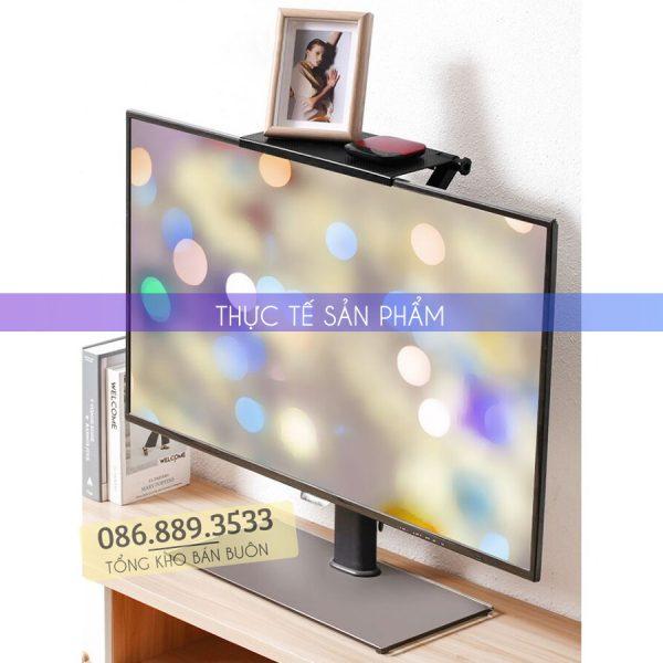gia de do gac tren man hinh may tinh tivi screen top shelf 5 600x600 - Giá Để Đồ Gác Trên Màn Hình Máy Tính - Tivi Q10 - Screen Top Shelf