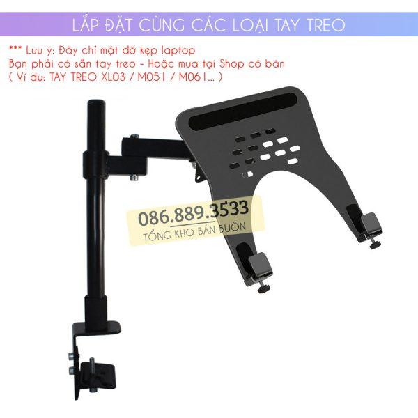 gia do kep laptop may tinh bang ipad macbook 10 16 inch 3 600x600 - Giá Đỡ Kẹp Laptop - Macbook - Máy Tính Bảng - Ipad XY360 10 - 16 Inch