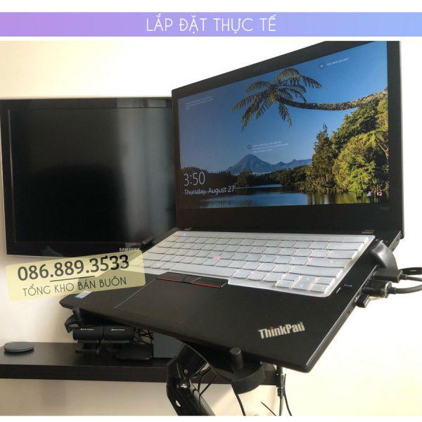 gia do kep laptop may tinh bang ipad macbook 10 16 inch 6 1 600x600 - GIÁ ĐỠ – KỆ ĐỂ – KẸP LAPTOP – MACBOOK – IPAD LOCTEK DA1 10.1 – 17.3 INCH