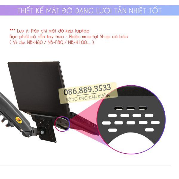 gia do kep laptop may tinh bang ipad macbook 10 16 inch 7 600x600 - Giá Đỡ Kẹp Laptop - Macbook - Máy Tính Bảng - Ipad XY360 10 - 16 Inch