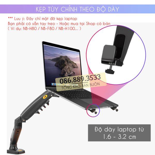 gia do kep laptop may tinh bang ipad macbook 10 16 inch 8 600x600 - Giá Đỡ Kẹp Laptop - Macbook - Máy Tính Bảng - Ipad XY360 10 - 16 Inch