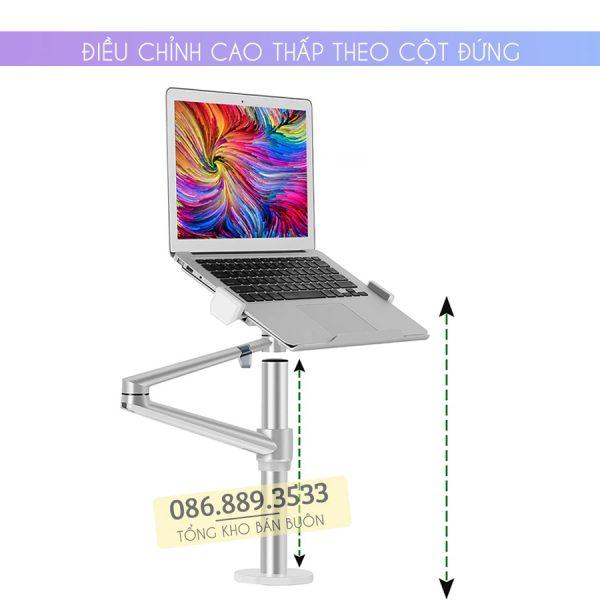 gia treo do laptop macbook may tinh bang 12 17 inch man hinh may tinh 17 32 inch ol 1s 5 600x600 - GIÁ ĐỠ KẸP LAPTOP – MACBOOK – IPAD – OL-1S 12 – 17 INCH