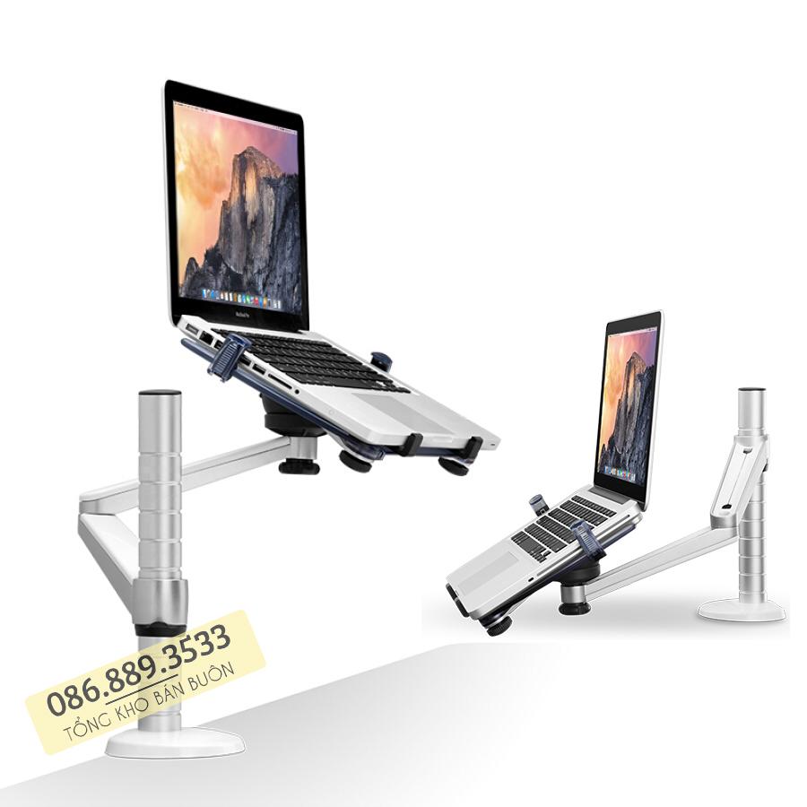 gia treo do laptop macbook may tinh bang oa 1s 10 15.6 inch 1 - GIÁ ĐỠ LAPTOP – MACBOOK – IPAD OA-1S 10 – 15.6 INCH