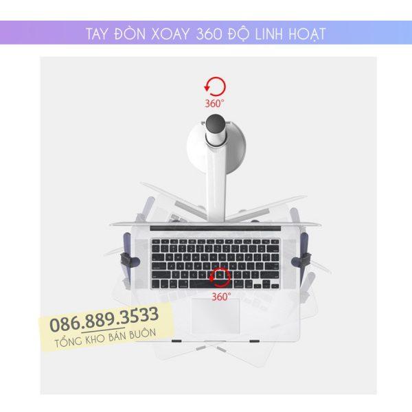 gia treo do laptop macbook may tinh bang oa 1s 10 15.6 inch 6 600x600 - GIÁ ĐỠ LAPTOP – MACBOOK – IPAD OA-1S 10 – 15.6 INCH