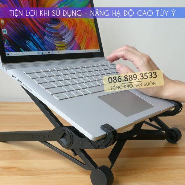 ke de gia do macbook laptop nexstand k2 3 600x600 - Giá đỡ Laptop, Macbook NEXSTAND K2 11.6 - 15.6 Inch